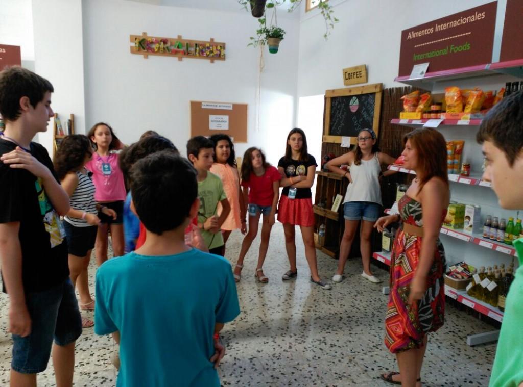 Hoy visitamos el comercio ecológico Koralium