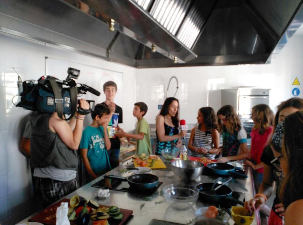 Recibimos la visita de Zaragoza Televisión (ZTV)