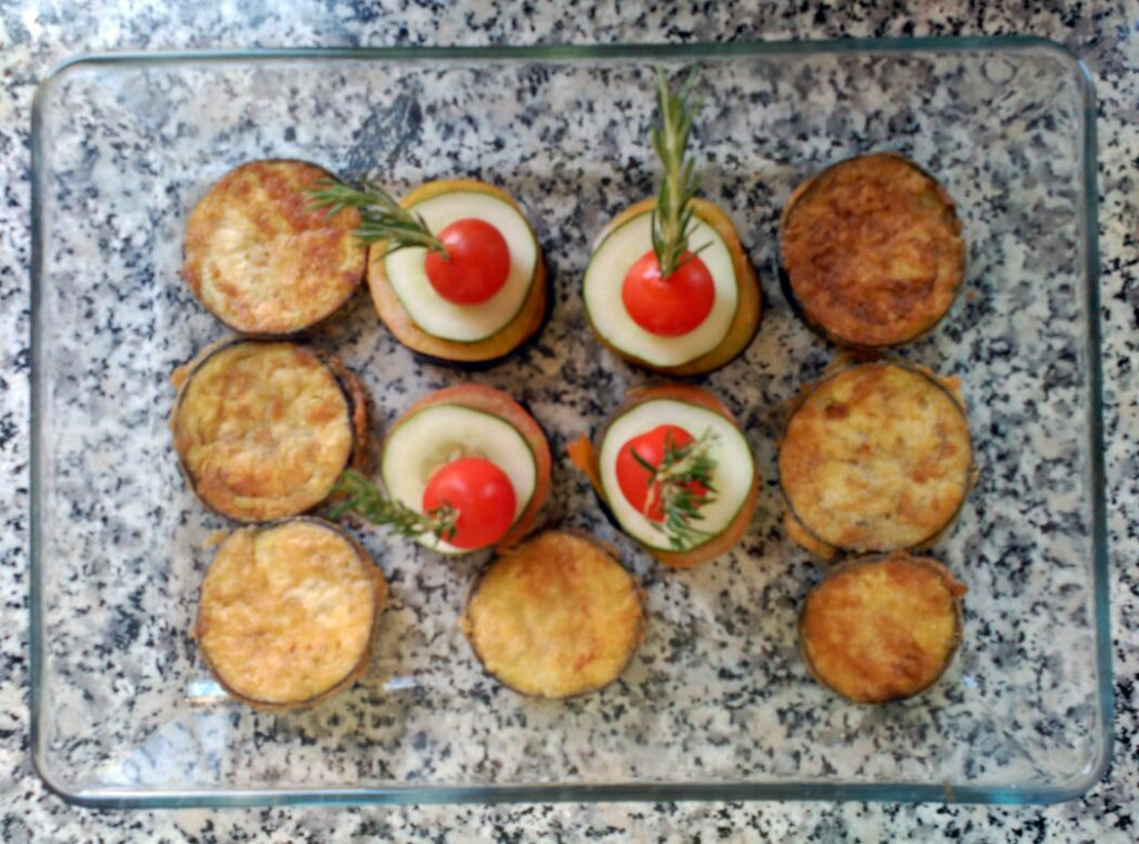Presentación del plato del día