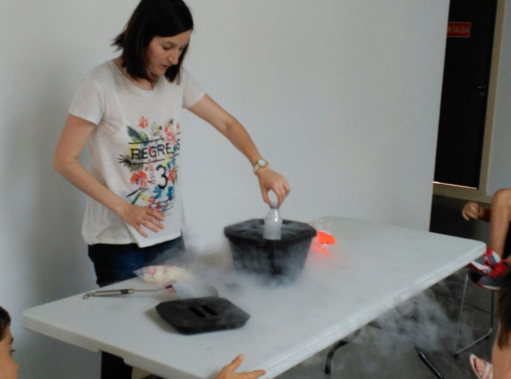 Nitrógeno en la cocina