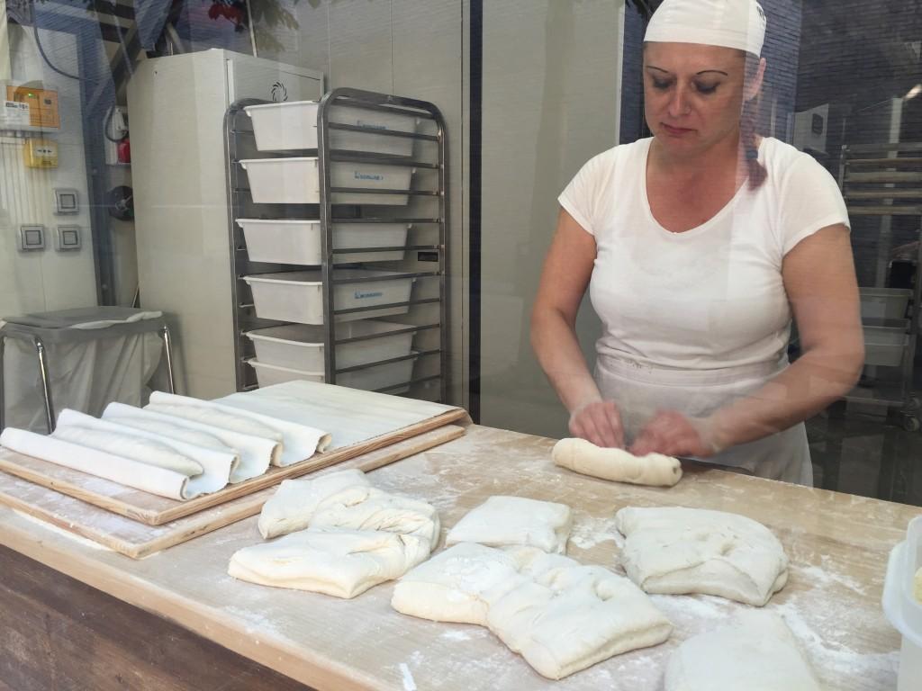 En la Panadería Simón de Zaragoza