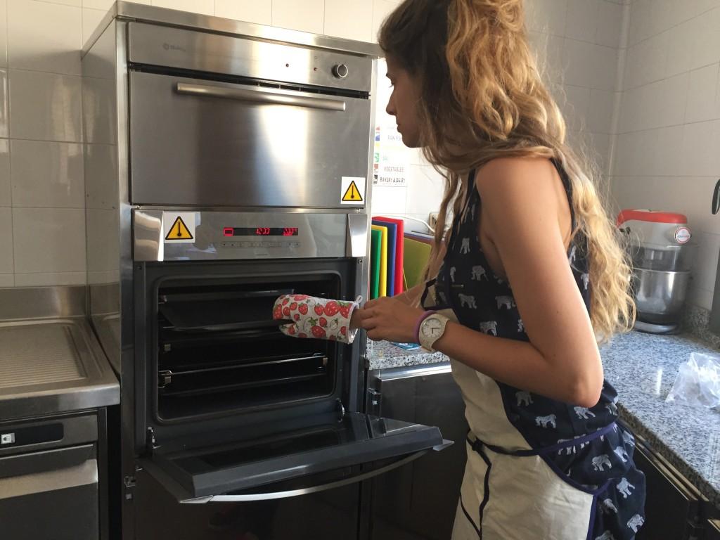 Preparamos el horno...
