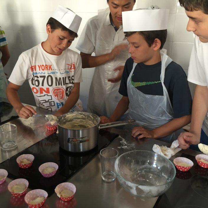 Nuestros chefs en el Laboratorio