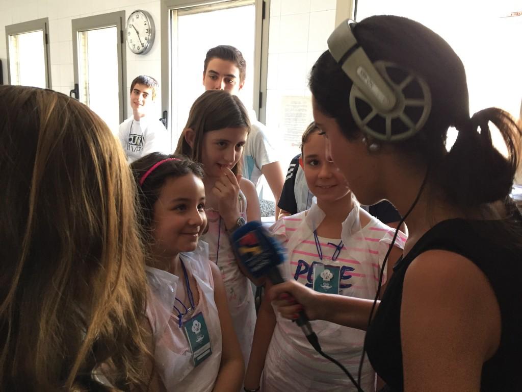 """Visita del programa """"Buenos días Aragón"""" de Aragón Radio"""