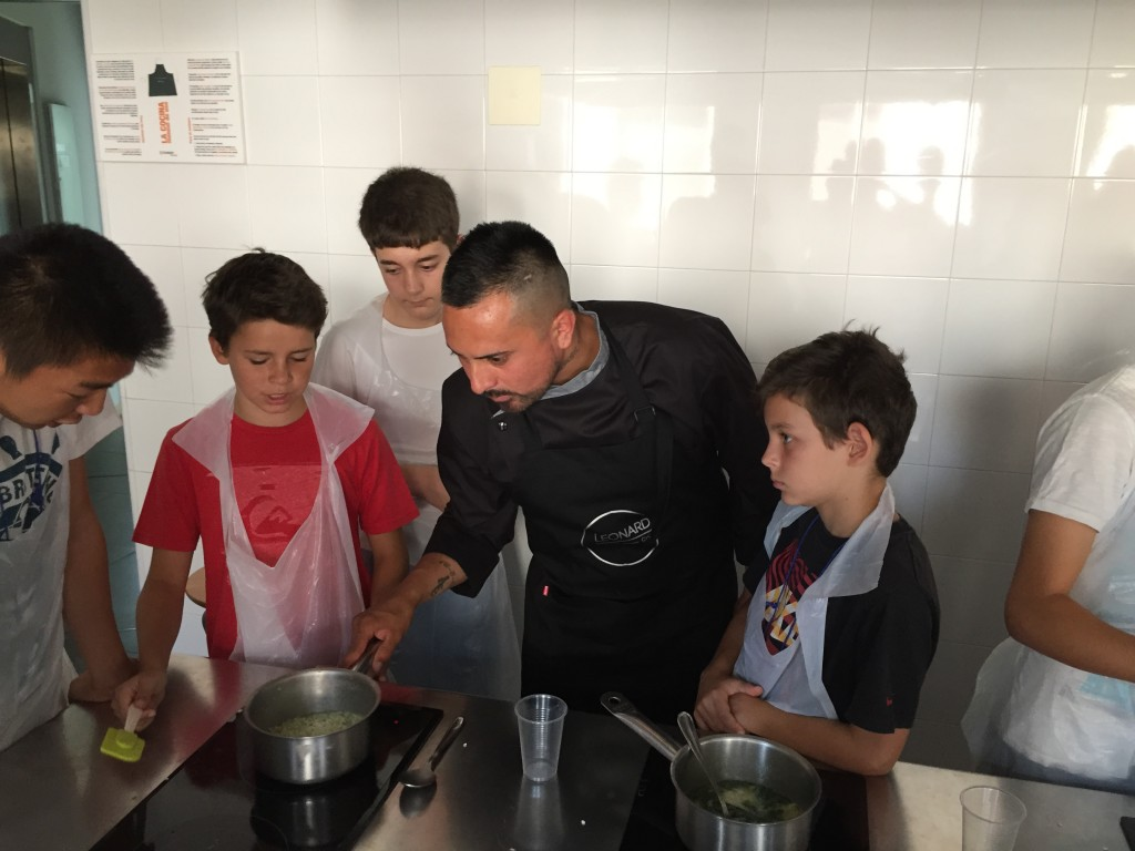 Master class del Chef Gabi Leonardi
