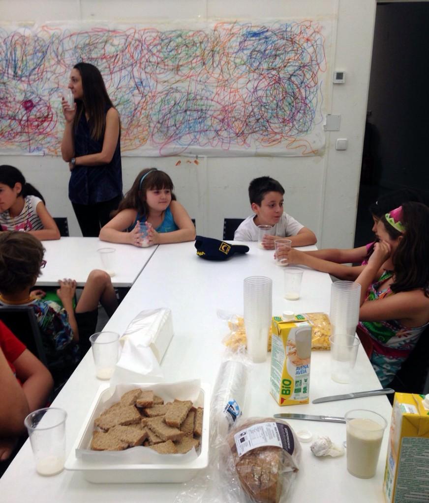 Taller de comida saludable para ser un buen inventor del Arte