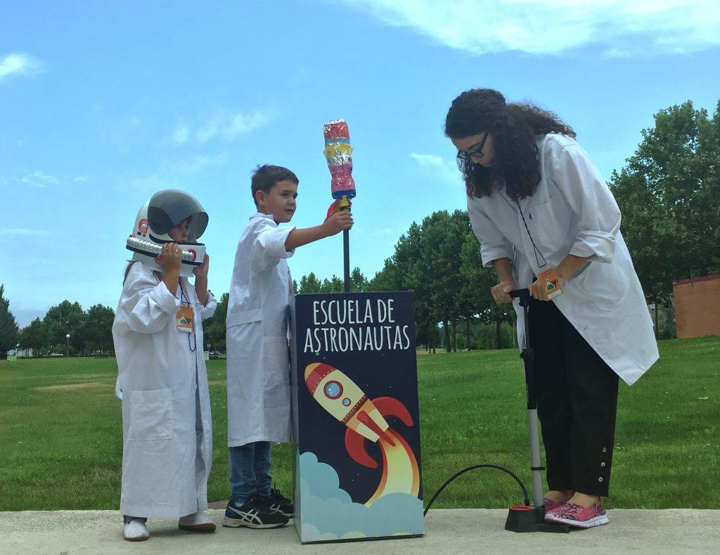 escuela de astronautas